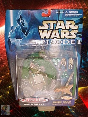 Star Wars Gungan Assault Action Fleet #3