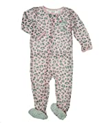 Carter's Baby Girl's Cat Footie Pajamas
