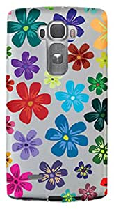 WOW Transparent Printed Back Cover Case For LG G Flex