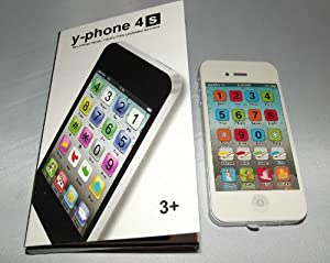 Y-phone English Learning Mobile Phone Toy / Puzzle Simulation Toy from Fabshopper
