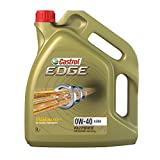 Castrol 24875 Synthetic Motor Oil Edge SAE 0W-40 A3/B4, 5 Liter