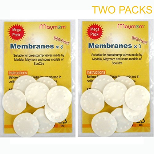 Membranes for Medela Breastpumps, 16pc Value Pack, Suitable for Lactina, Swing, Pump in Style Pumps, Part # 87088