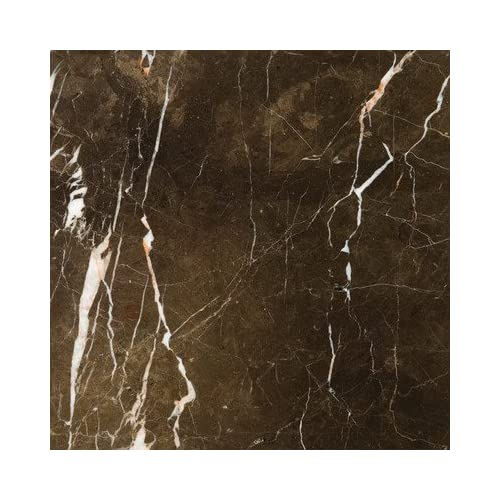 """Natural Stone 12"""" x 12"""" Marble Tile in St. Croix Brown"""