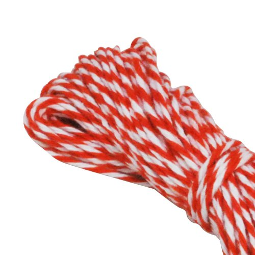 Dress My Cupcake Baker'S Twine String Roll For Gifts And Favors, 15-Yard, Citrus Orange front-522666