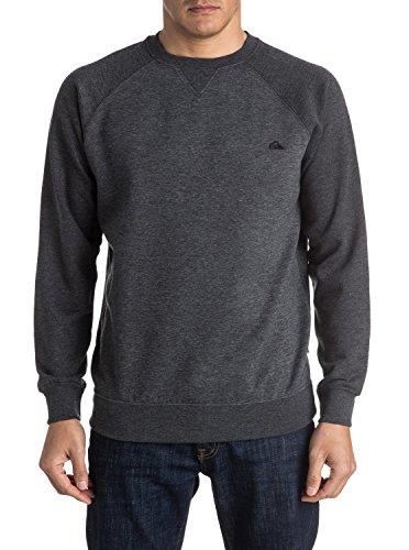 quiksilver-herren-fleece-top-everyday-crew-m-otlr-sweatshirts-grau-dark-grey-heather-ktfh-medium