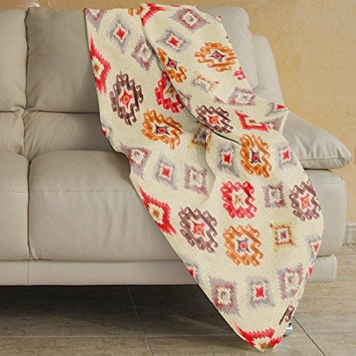 Burrito blanco-Foulard 049, couleur orange 230x275 cm orange