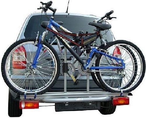 AHK Fahrradträger DOMINGO ECO mit Abklappmechanismus