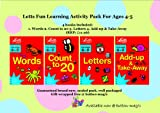 Stephanie Cooper Letts Fun Learning Curriculum Based Activity Books Ages 4-5 - Set / collection includes 4 books : 1. Words 2. Count to 20 3. Letters 4. Add-up & Take-Away Each illustrated book contains quizzes games and rhymes to make learning fun (RR
