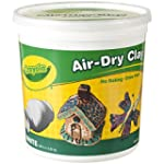 Crayola Air Dry Clay 5 Lb Bucket, Whi...