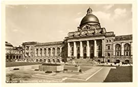 1930s Vintage Postcard Army Museum and War Memorial Munich Germany
