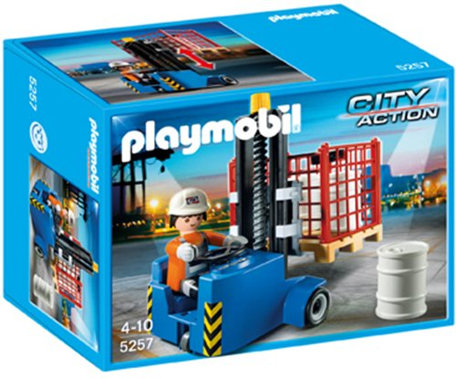 Playmobil Forklift Playset front-1050081