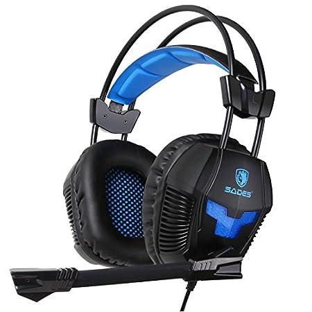 Sades SA921 Multifunction Universal Gaming Headset with Mic (Black)