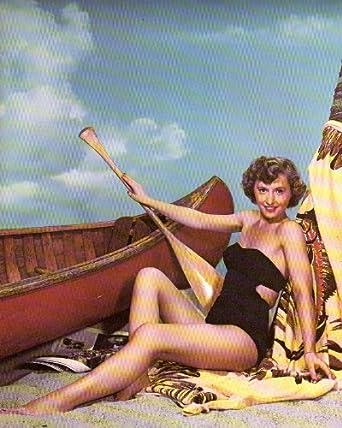 Barbara Stanwyck Leggy Clipping Magazine photo 8x10 1pg orig A10255 at