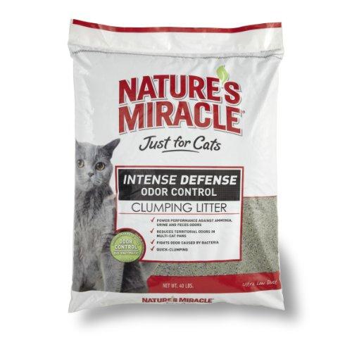 Наполнитель для кошачьего Nature's Miracle Intense