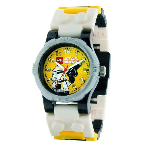 Lego Mini Classic Star Wars Yellow Dial Youth Watch #9001949