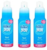 Durex Play Feel Intimate Lube 60 ML Pack of 3 [ YOUR CARE ]