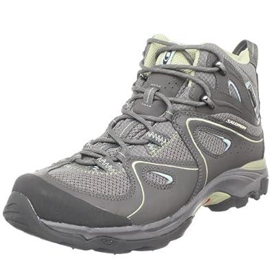 salomon walking boots ladies