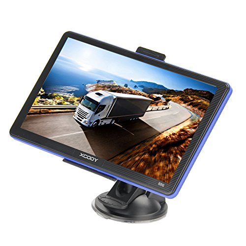 Xgody 886 7'' 8GB Capacitive Touchscreen SAT NAV Car Truck GPS Navigation System Navigator with Lifetime Maps (Gps Navigation Truck compare prices)