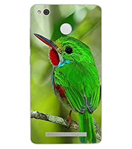 ColourCraft Lovely Bird Design Back Case Cover for XIAOMI REDMI 3X