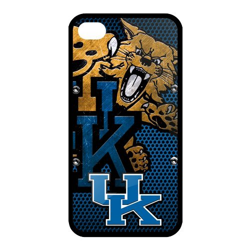 Custom Christmas Gifts NCAA Kentucky Wildcats Perfect Fit Iphone 4 4S TPU Silicone Back Case At customcasestore at Amazon.com