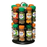 Premier Housewares Revolving Spice Rack with Schwartz Spices (Spice Rack 16)