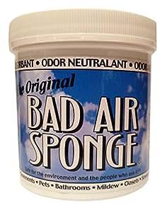 The ORIGINAL Bad Air Sponge Odor Absorbing Neutralant, 1lb (.45kg)