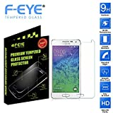 FEYE® Samsung Galaxy Alpha 5 Ultra Slim 0.3mm Tempered Glass Screen Protector By Premium Shatter Proof Crystalline...
