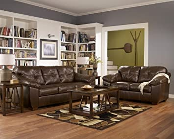 Coffee Sofa - Loveseat - Chair - and Ottoman Set