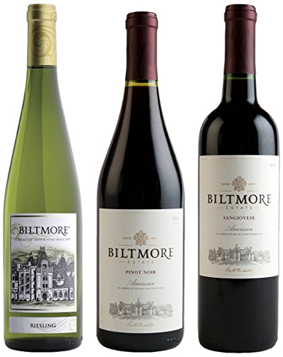 Biltmore Reds and White Mixed Pack, 3 x 750 mL
