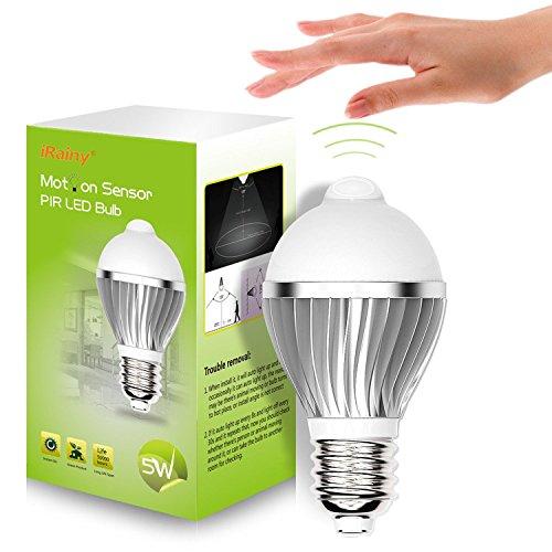 Lampadina LED con Rilevatore di Movimento PIR a Infrarossi e Sensore ...