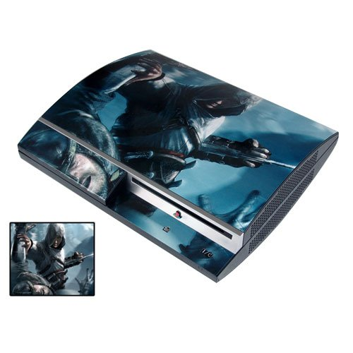 Pacers Assassin's Creed Ps3 Playstation 3 Body Protector Skin Decal Sticker Item No.ps30853-03