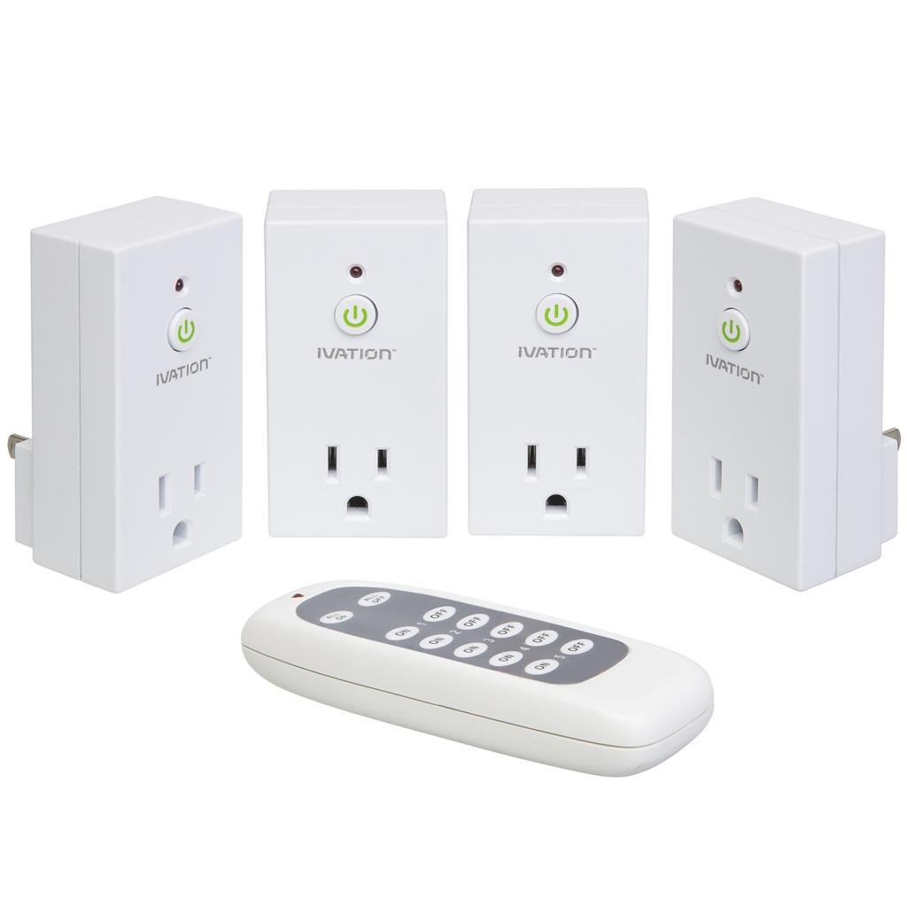 ivation 110v ac plug programmable wireless remote control. Black Bedroom Furniture Sets. Home Design Ideas