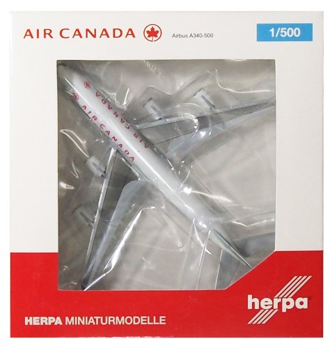 Daron Herpa Air Canada A340-500 Reg#C-Gkol Model Kit (1/500 Scale) (A340 Air Canada compare prices)