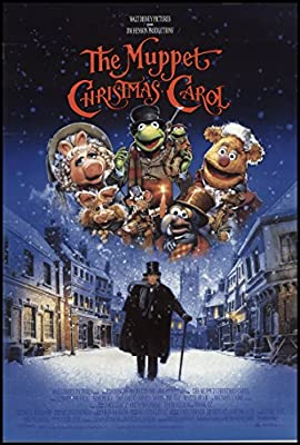 "The Muppet Christmas Carol 1992 ORIGINAL MOVIE POSTER Comedy Drama Family - Dimensions: 27"" x 41"""
