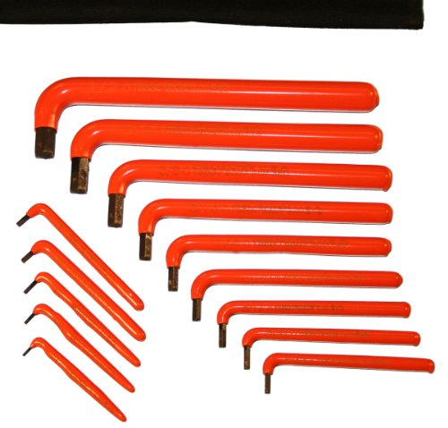 Cementex HWS-14L Long Arm Allen Wrench Set, 14-Piece (Insulated Allen Wrenches compare prices)
