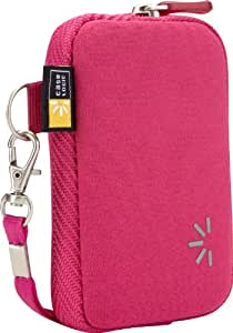 Case Logic UNZB202PI Housse de protection en néoprène pour Appareil photo compacts, les baladeurs MP3, les téléphones portables et les petits appareils électroniques portables Rose