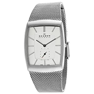 Skagen Men's 915XLSSS Steel Matte Textured Mesh Accents Watch