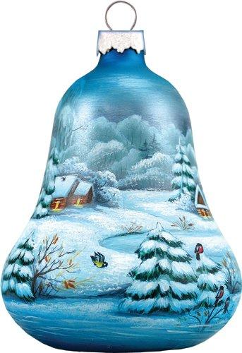 Winter Village Bell Ornament