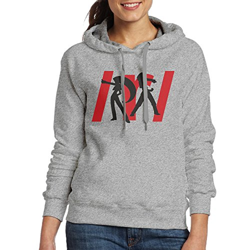 [JXMD Women's Team Rocket Hoodie Ash Size XL] (Doc Mcstuffins Costume Toys R Us)