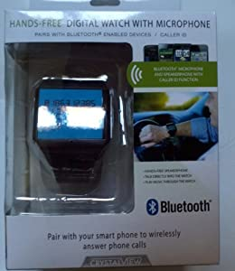 Hands-Free Digital Watch With Microphone - Bluetooth