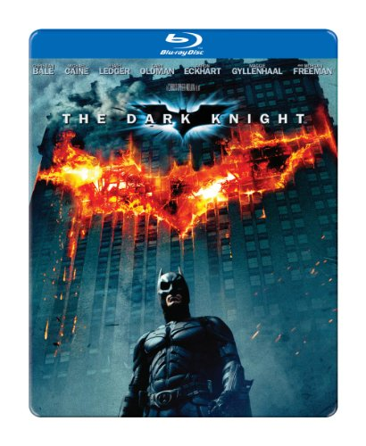 The Dark Knight Blu-ray Steelbook at Gotham City Store