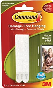 Command Narrow Picture Hanging Strips (17207)