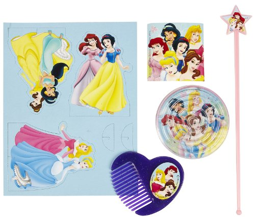 Disney Princess Goody Bag with 5 Favors - 1