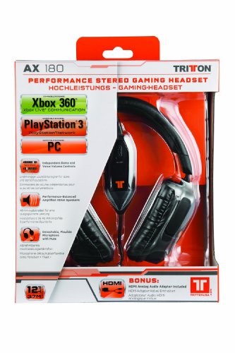Tritton AX 180: Universal Gaming Headset (PS3/Xbox 360/PC/Mac)