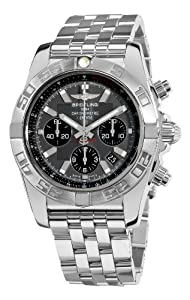 Breitling Men's AB011011/F546 Chronomat B01 Grey Chronograph Dial Watch