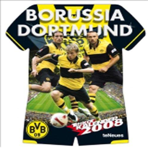 Fußball - Kalender Borussia Dortmund 2008 (in 34 cm x 42 cm)