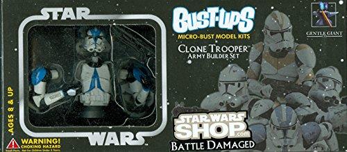 Gentle Giant - Pack de 4 Bust-Up Clone Troopers - 0871810000777