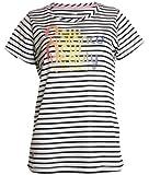 (ニューバランス)NEW BALANCE レディース ボーダーグラフィックTシャツ