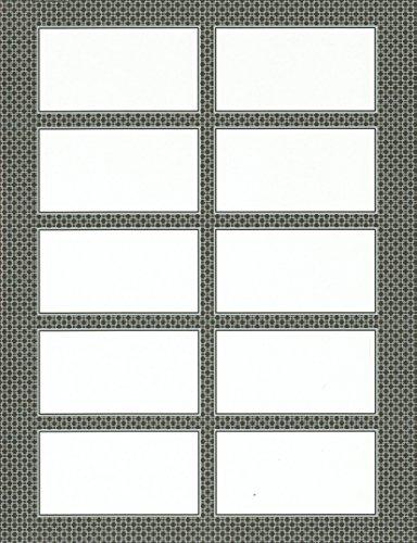 """Gartner Studios Gray Business Cards 3 1 2"""" x 2"""" Pack 250"""