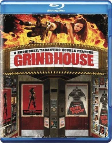 GRINDHOUSE DOUBLE FEATURE Rodriguez/Tarantino Planet Terror/Death Proof BLU-RAY 2-DISC Movie Set (Both Movies Together)